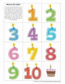 preschool birthday theme worksheets 20265 http homeschoolcreations images cake game jpg verjaardagskaarsjes verjaardagskalender