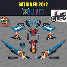 Stiker Motor Satria Fu by Jual Sticker Striping Motor Stiker Suzuki Satria Fu One