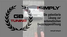 go simply seat 5f automatische heckklappe automatic