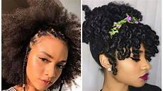 4c natural hairstyles compilation for short long hair