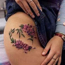 upper thigh tattoos designs ideas and meaning tattoos