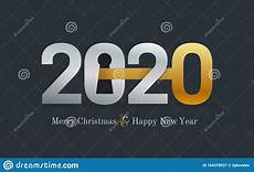 2020 new year card for real estate company happy new year 2020 concept with key and door lock