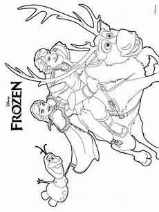 Malvorlagen Frozen Explorer Freezer Coloring Pages