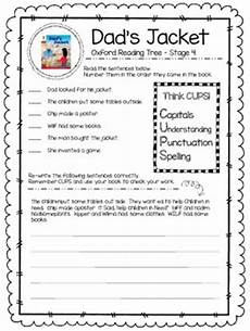 oxford reading tree stage 4 dad s jacket reading activity