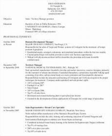 sle medical sales resume 8 exles in word pdf
