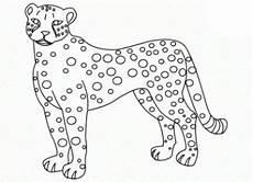 Kostenlose Malvorlage Gepard Gepard Ausmalbilder Ausmalbilder F 252 R Kinder