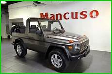 Mercedes G Class Convertible 1990 Gray For Sale