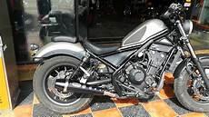 honda rebel 2017 honda rebel cmx 500 2017 custom exhaust slip on