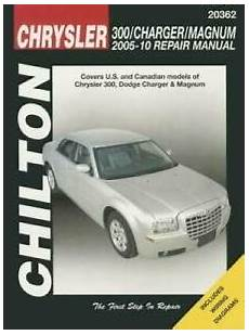 chilton car manuals free download 2005 chrysler pt cruiser navigation system chilton total car care chrysler 300 charger magnum 2005 2010 repair m good 9781620920565