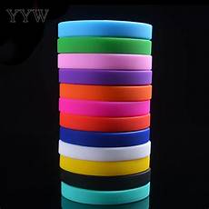 Color Band Silicone by 13 Colors Silicone Rubber Wristband Wrist Band