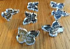 personalised wedding table decorations favours confetti
