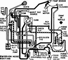 Vacuum Routing Diagram For 1984 Chevy 1 Ton 350 4bbl