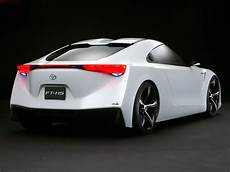 futuristic toyota ft hs hybrid sports concept car