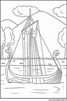 malvorlagen zirkus vessel wikingerschiff als gratis ausmalbild f 252 r kinder