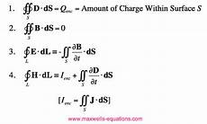 alternate forms of maxwell s equations
