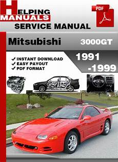 how to download repair manuals 1998 mitsubishi gto user handbook mitsubishi 3000gt 1991 1999 service repair manual download downlo
