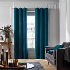 Rideau Vert Canard Une Touche De Bleu Canard Dans Le Salon Joli Place