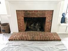 Diy Lime Washed Brick Fireplace Bless Er House