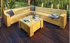Holztisch Zur Gartenlounge Selber Bauen Anleitung