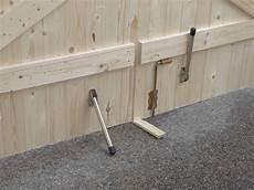 Comment Renforcer Une Porte De Garage En Bois La R 233 Ponse