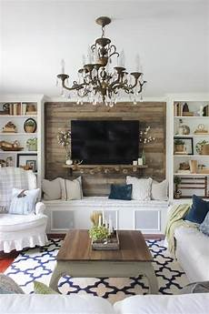 livingroom wall ideas fall into home tour 2016 feather my nest fall living