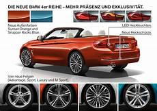 Neue Farben 2017 - bmw 4er facelift lci 2017 neue farben und neue