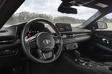 Say Hello To The Toyota Supra Gr S Interior Before It S