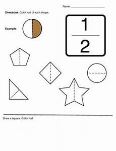 fraction worksheets half 3953 k 1 fractions 1 2 half activity worksheet by klynoot kinderschool