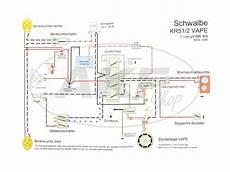 kabelbaumset schwalbe kr51 2 12v vape mit schaltplan