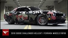 2016 dodge challenger hellcat hell of a ferrada