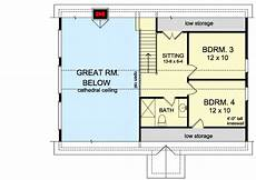 4 bedroom house plans with walkout basement 4 bedroom vacation house plan with walk basement