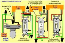 how to wire three light switches to one light only using 2 wires quora