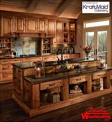 rustic kitchen furniture custom woodworking