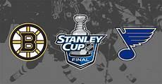 nhl stanley cup finals boston bruins vs st louis blues prediction