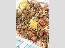 Sheet Pan Dinners Easy Sausage & Veggie Recipe!   Must