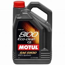 Huile Moteur Motul 8100 Eco Clean Essence Diesel C2 5w30