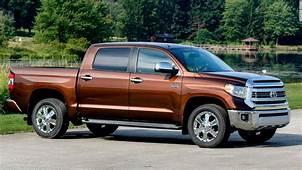Full Size Pickup  Toyota Tundra V8 2WD Consumer