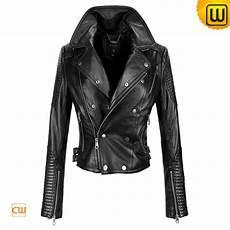 black motorcycle leather jacket cw608102