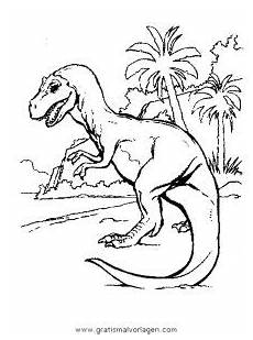 dinosaurier 198 gratis malvorlage in dinosaurier tiere