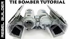 lego wars tie bomber moc tutorial