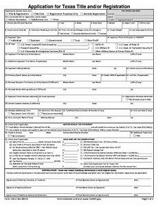 application of texas title 130 u form fill out and sign