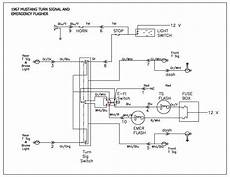 1966 mustang flasher diagram wiring schematic turn signal problems on 1966 mustang mustangforums