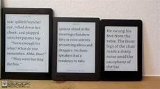 Ebook Reader Screen Size Comparison