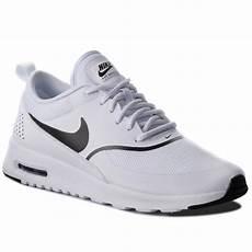 shoes nike air max thea 599409 108 white black