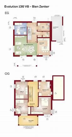 Einfamilienhaus Grundriss Mit Carport Pultdach