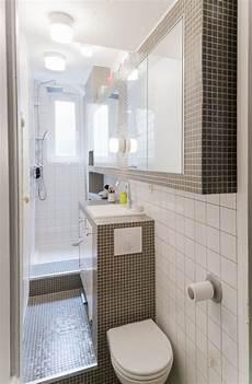 idee salle de bain petit espace gain de place salle de bain sur salle de bains 233 troite salle de