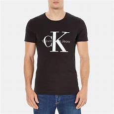calvin klein s 90 s re issue t shirt black clothing
