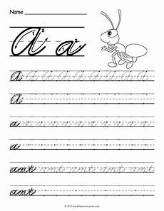 cursive handwriting practice worksheets free 21709 free printable cursive a worksheet cursive writing worksheets cursive handwriting worksheets