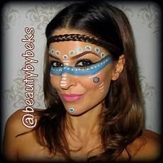 pocahontas makeup search indianer