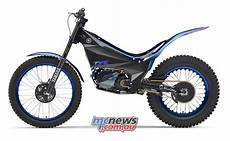 yamaha ty e trial bike enters 2018 fim trial e cup